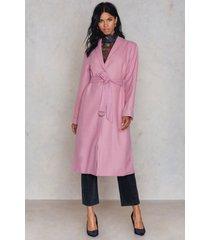 na-kd pink coat - pink