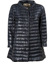 herno down jacket with long sleeves