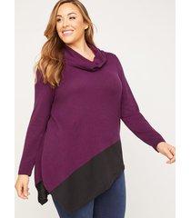 chatfield cowl-neck sweater
