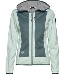 sointu w softshell jacket zomerjas dunne jas groen halti