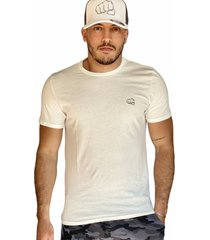 camiseta básica beige fist hombre