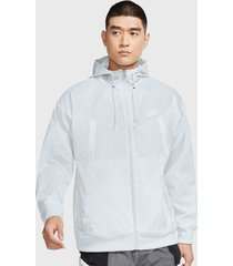 chaqueta nike m nsw wr jkt hd revival blanco - calce regular