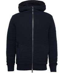 jacket hoodie trui blauw armani exchange