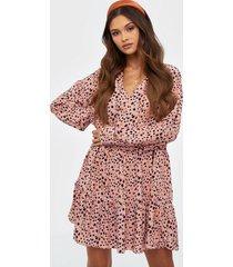 glamorous mini flounce dress loose fit dresses