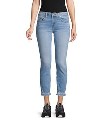 roxanne distressed ankle jeans