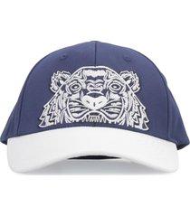 kenzo colorblock tiger baseball cap