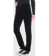 pantalón wados basico negro - calce ajustado