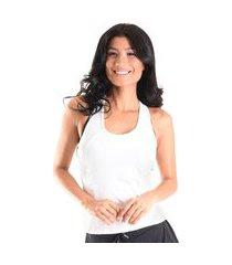regata mama latina basic energy branco