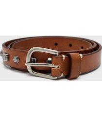 cinturón fashion belt argent marrón amphora
