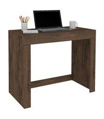 mesa escrivaninha multiuso permóbili móveis cléo 1 gaveta café