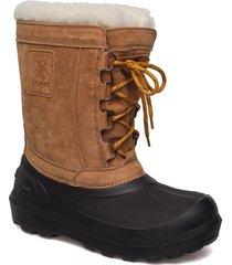 svartisen shoes boots winter boots brun viking