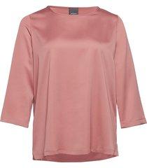 beato blouse lange mouwen roze persona by marina rinaldi