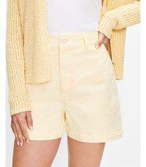 loft welt pocket denim shorts