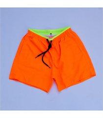 traje de baño naranja mr. town short baño