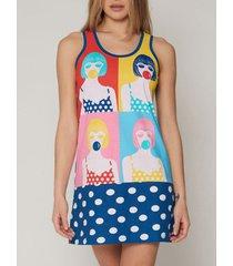 pyjama's / nachthemden admas babydoll pop santoro