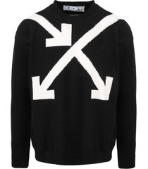 off-white twisted arrows sweater