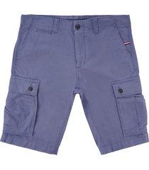 tommy hilfiger john cargo shorts - vintage blue mwowm09642