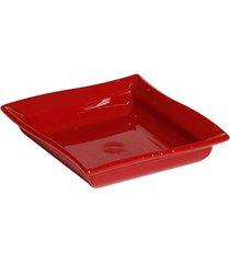 molheira moove vemplast 60ml linha profissional cook em policarbonato - vermelho - incolor - dafiti