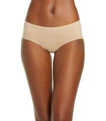 women's b.tempt'd by wacoal comfort intended daywear hipster panties, size medium - beige