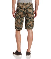levis men's premium cotton cargo shorts original relaxed fit green camouflage