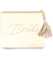 clutch nita faco bride to be off-white