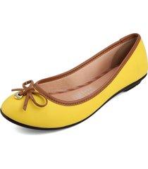 baleta amarilo-miel moleca