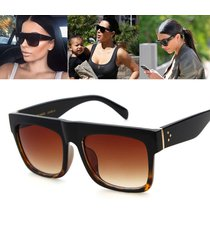 fashion kim kardashian style sunglasses women design vintage square sun glasses