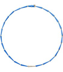 18k yellow gold lola linked necklace