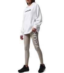 fcuk oversized logo hoodie