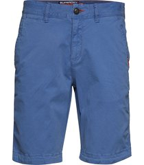 international slim chino lite short shorts chinos shorts blå superdry