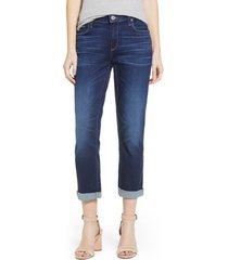 women's paige brigitte transcend vintage high waist crop boyfriend jeans