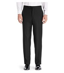 1905 collection tailored fit flat front tuxedo separate pants - big & tall by jos. a. bank