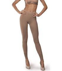meia calça legging nova demillus 01070 bege rosado