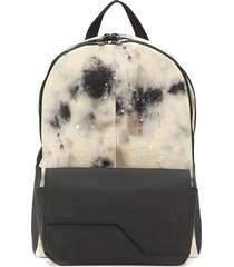 a-cold-wall* x diesel red tag tie-dye print backpack - neutrals