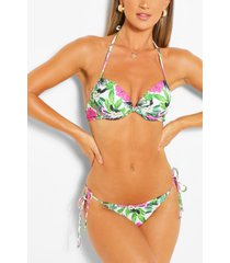 mix & match leaf push up top, pink