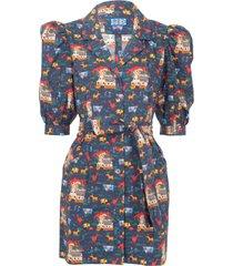 the casitas dress, quirky farm animals