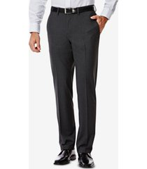 j.m. haggar men's 4-way stretch slim-fit suit pants