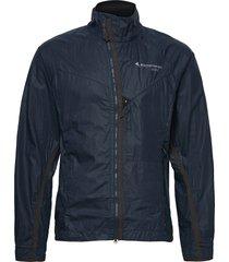 ansur wind jacket m's outerwear sport jackets blå klättermusen