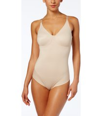 miraclesuit women's extra firm tummy-control molded cup comfort leg bodysuit 2802