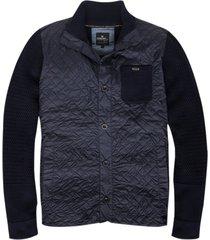 vanguard donkerblauw vest jas