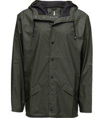 jacket regenkleding groen rains