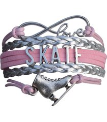 figure skating charm bracelet - ice skate jewelry - perfect figure skating gifts