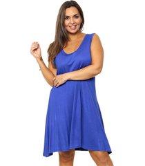 vestido azul minari sileana plus size