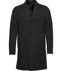 storvik coat outerwear coats wool coats zwart oscar jacobson
