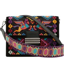 etro rainbow shoulder bag with embroidery