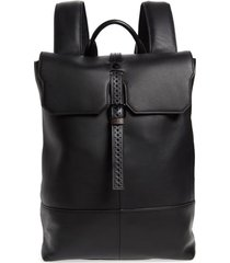 men's ted baker london reel leather backpack -