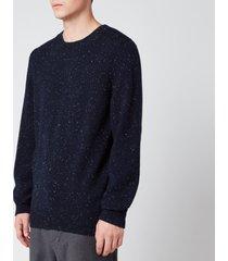 a.p.c. men's cavan sweatshirt - dark navy - xxl
