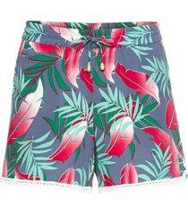 shorts a fiori (blu) - rainbow