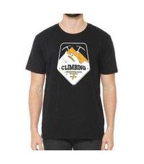 camiseta talismã store de algodão eco canyon climbing masculina