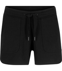 shorts in felpa con coulisse (nero) - bpc bonprix collection